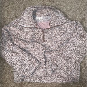 THREAD AND SUPPLY PULLOVER SHERPA
